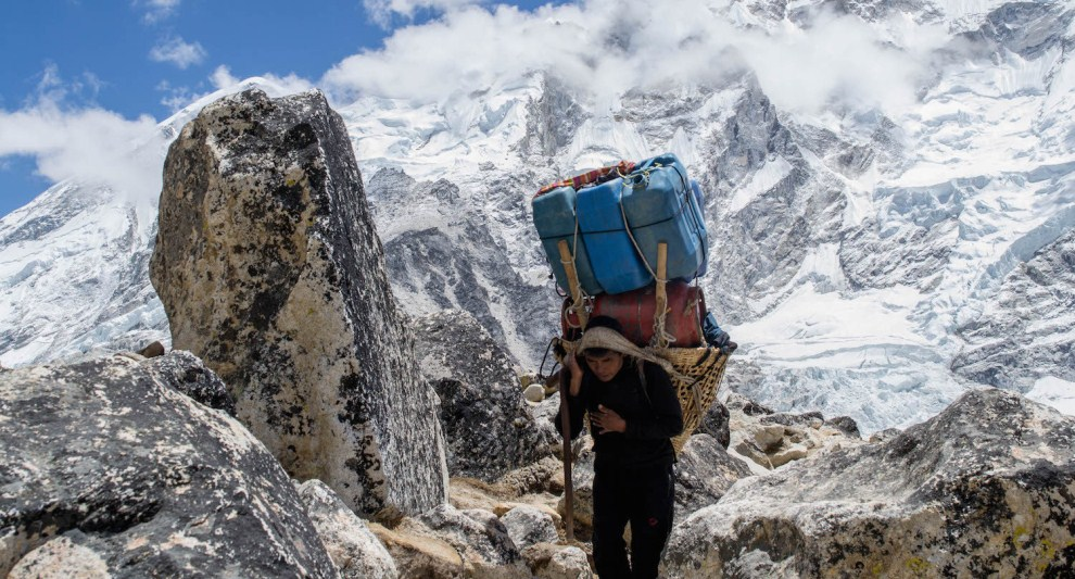 Sherpa al lavoro