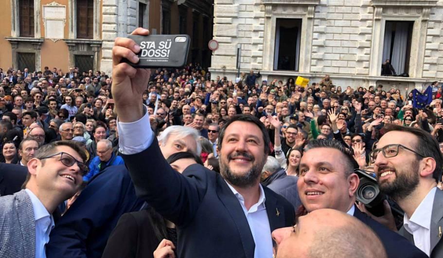 La comunicazione di Salvini