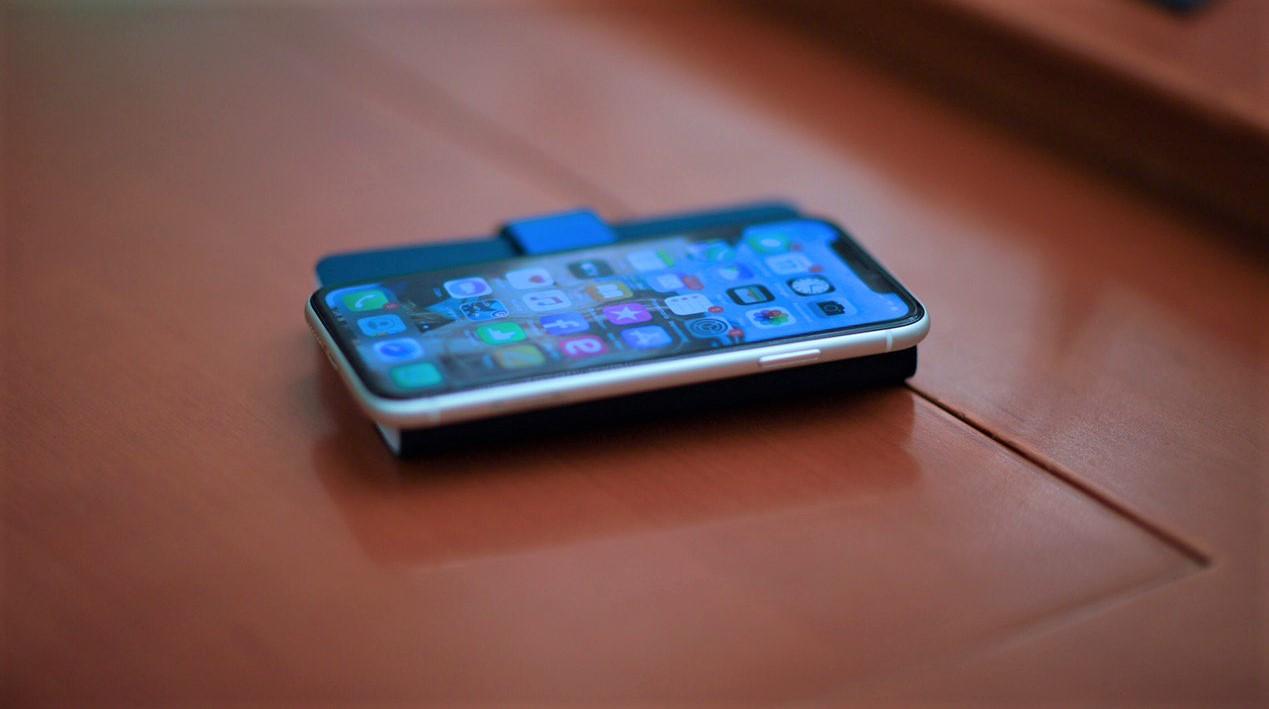 Smartphone d'oro