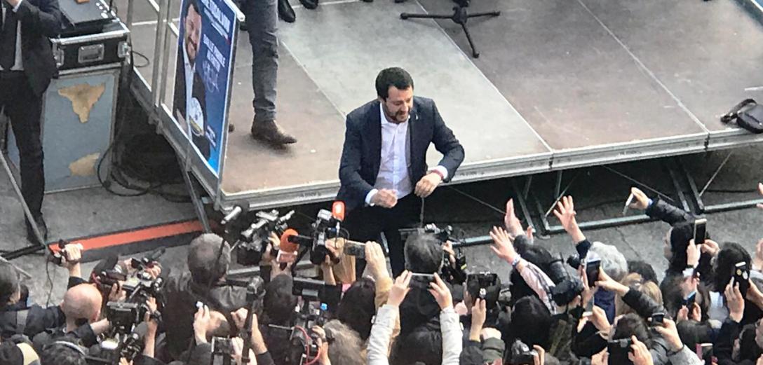 Al telefono con Salvini