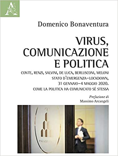 copertina virus, comunicazione e politica